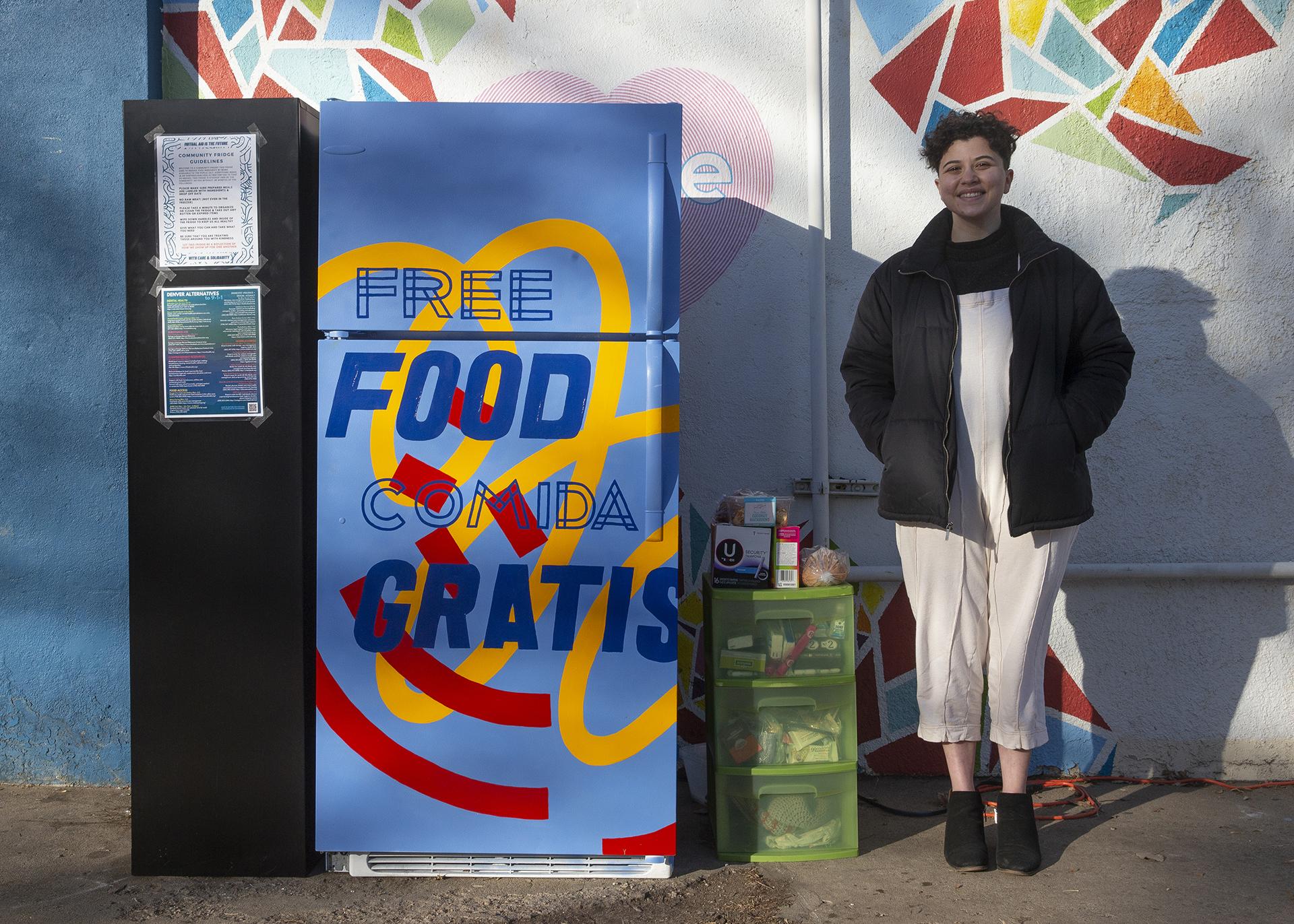 Denver Community Fridge provides for citizens of all socioeconomic standings