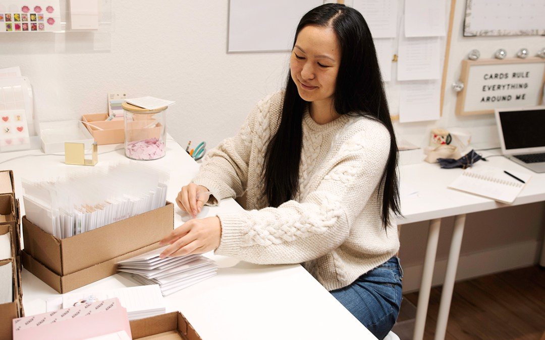 Amy Zhang and the power of paper