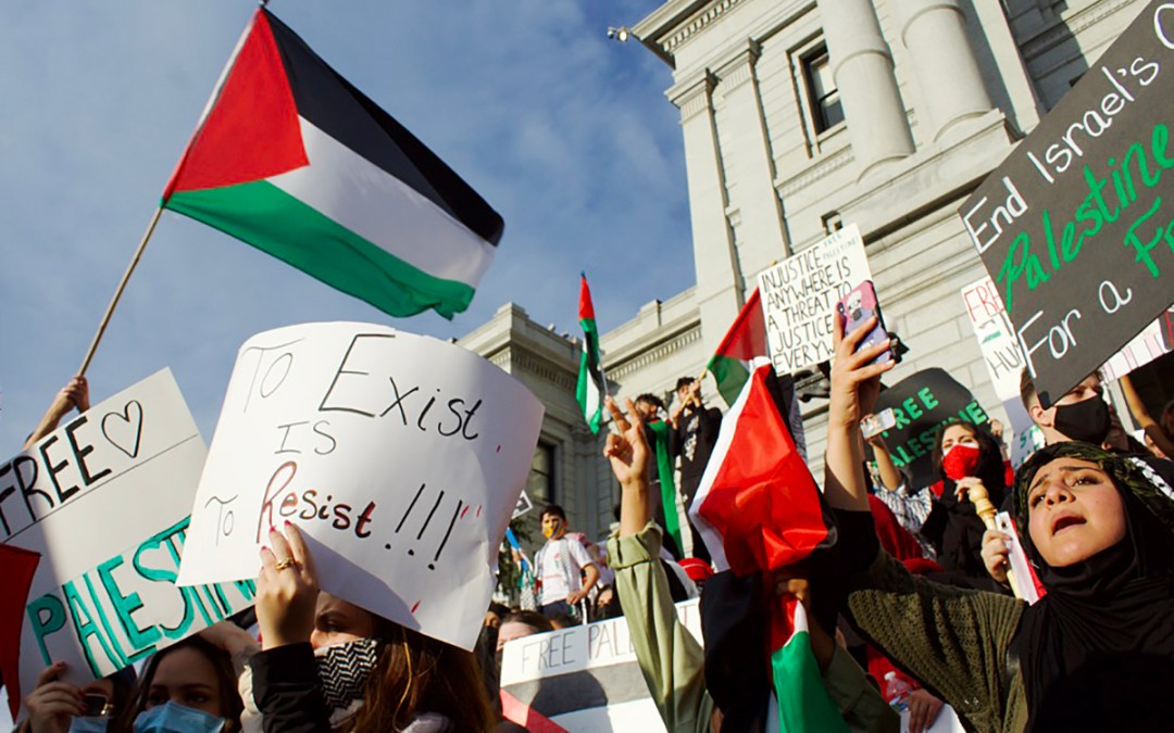 Denver protesters demand global action to protect Palestinians