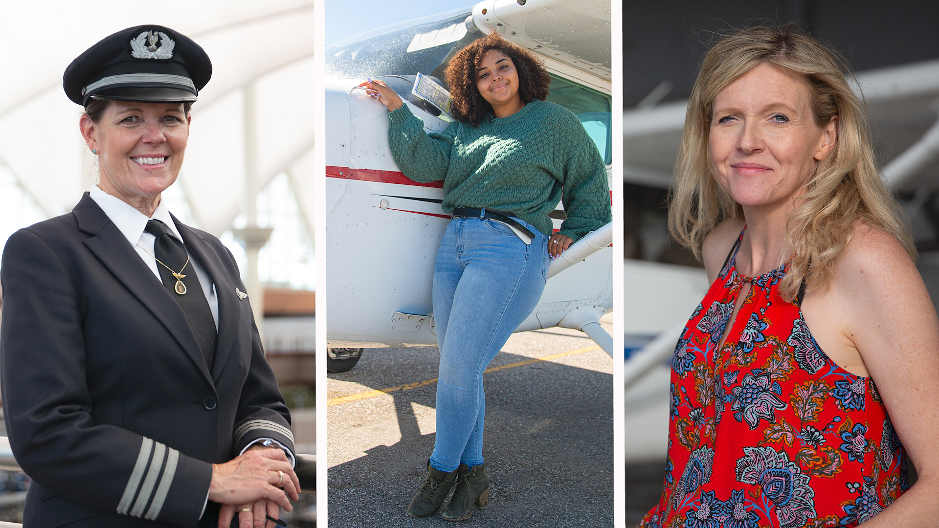 Colorado women in command of the cockpit