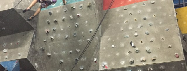 Wall Climbing at Metrosports Lahug