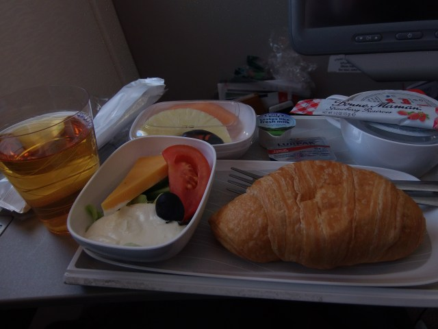 Sumptuous breakfast by the Emirates