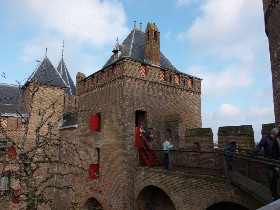 Knight tower in Castle Muiderslot