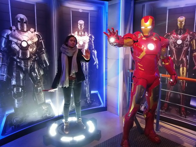 Ironman at Madame Tussauds