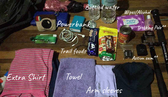 Ms. Meeting Adventures trekking essentials
