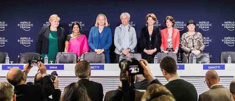 Foro Económico Mundial estará dirigido exclusivamente por mujeres