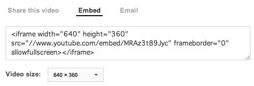 "<iframe width=""600"" height=""338"" src=""//www.youtube.com/embed/MRAz3t89Jyc"" frameborder=""0"" allowfullscreen></iframe>"
