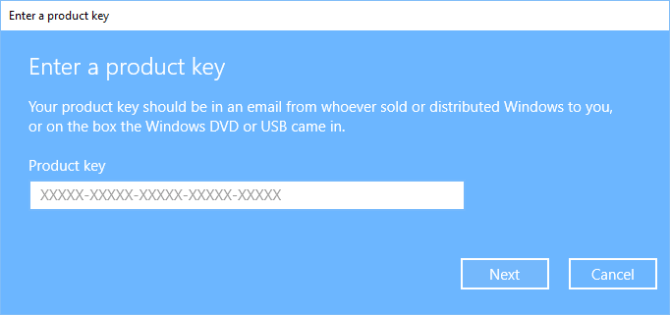 do you need an activation key for windows virtual machine
