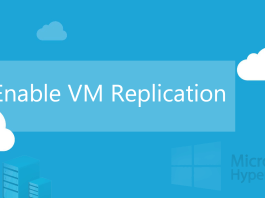 Enable VM Replication