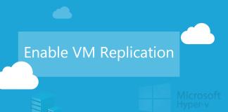 Enable VM Replication