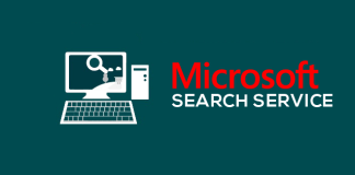 Microsoft search service