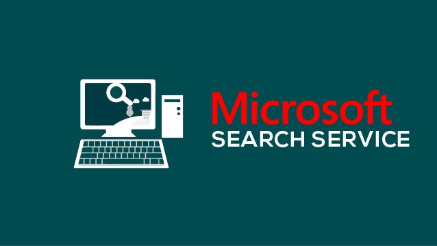 Microsoft search service