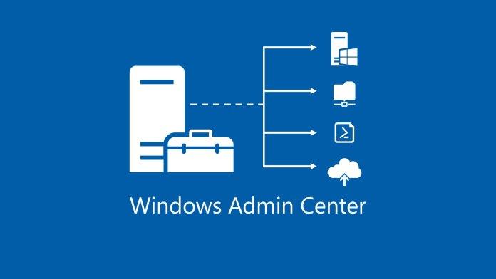 windows admin center