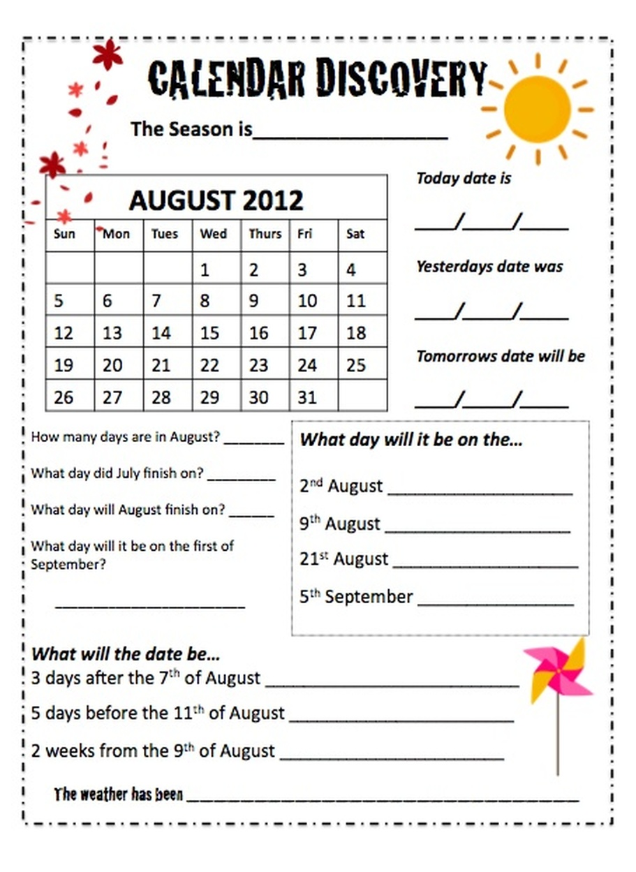 small resolution of 35 Reading A Calendar Worksheet - Worksheet Resource Plans