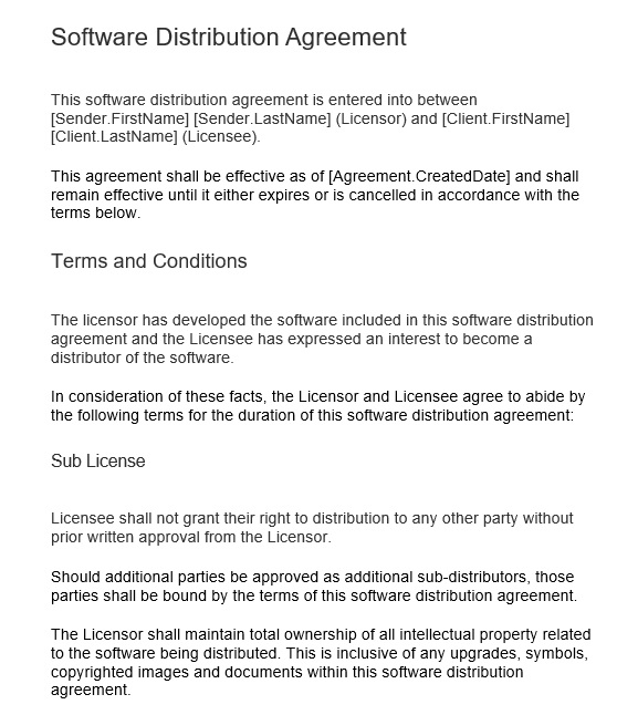 Free distribution agreement template for software andor multimedia download all these free distribution agreement templates for software andor multimedia that can easily help you to prepare your own distribution agreement platinumwayz