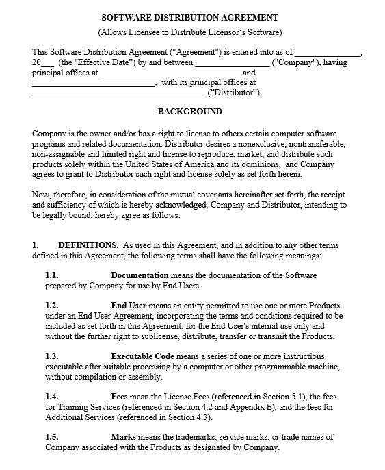 17 Free Trademark License Agreement Templates For Software