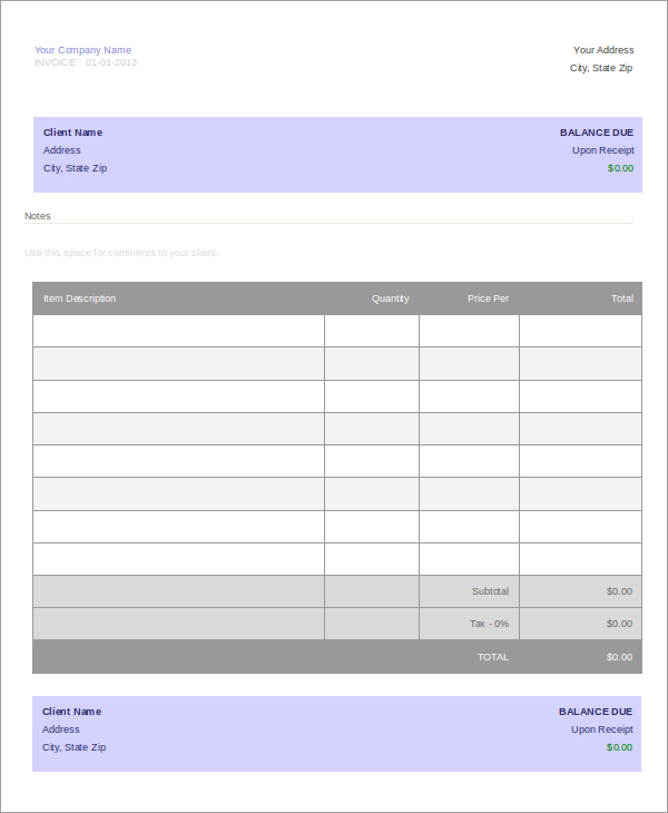 16+ Free Travel Service Quotation Templates - MS Office