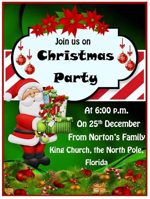 15  free christmas party invitation templates
