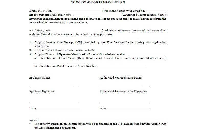 Sample Authorization Letter 03