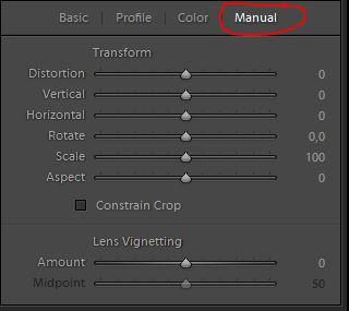 lens correction manual