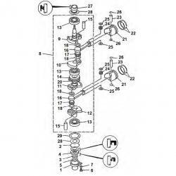 Acheter des pièces de moteur de hors-bord Yamaha (2 temps