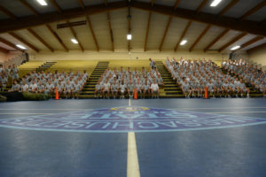 Recruits Begin Long Training Journey to Becoming State
