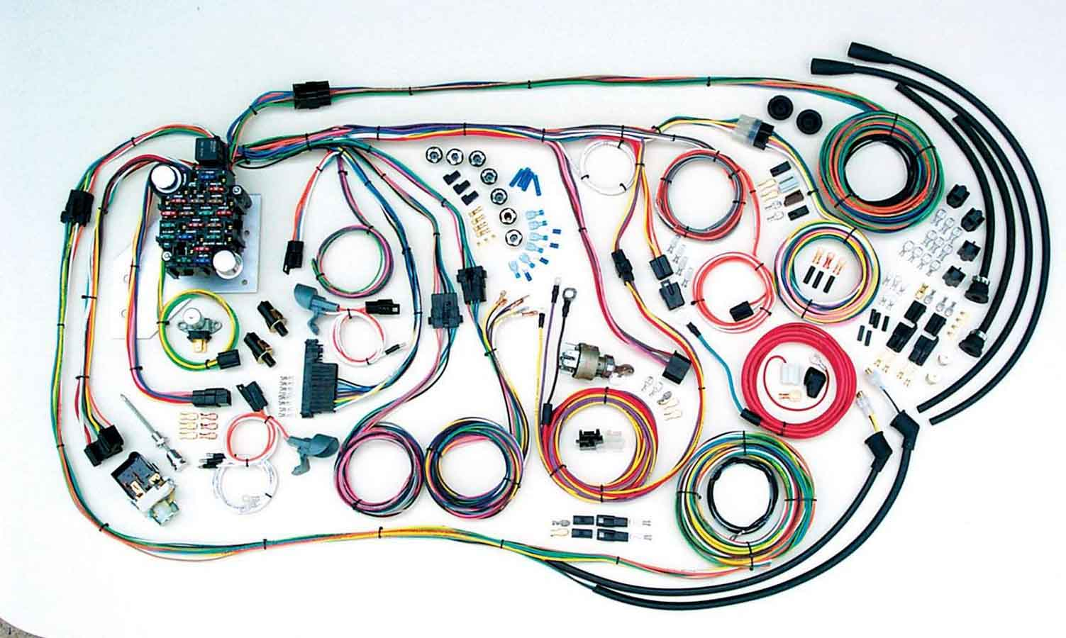 hight resolution of american autowire wiring system chevy truck 1955 59 kit p n 500481 ebay