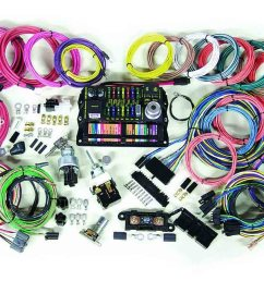 details about american autowire wiring system 22 power outlets gm color code kit p n 500695 [ 1344 x 900 Pixel ]