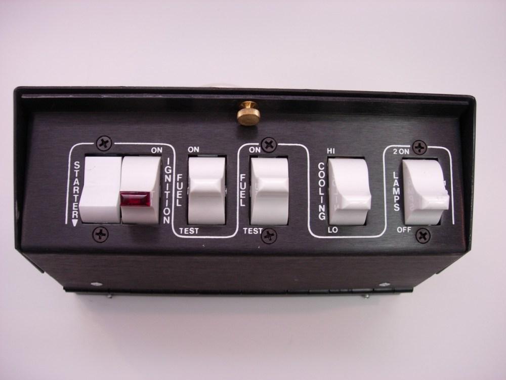 medium resolution of overhead pro stock control module