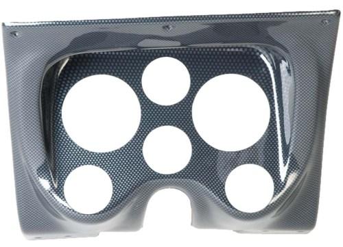 small resolution of 67 68 camaro carbon fiber 6 hole dash panel