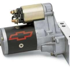 gm performance high torque starter 3 75 1 gear reduction chevy v8 p n 12361146 [ 1106 x 900 Pixel ]