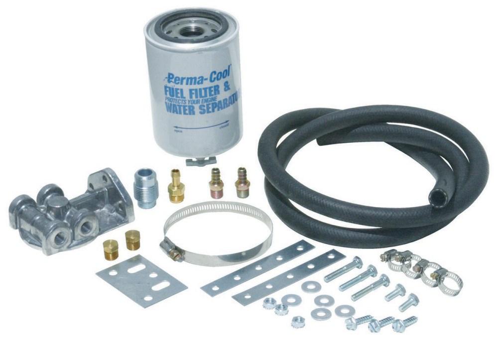 medium resolution of fuel filter water separt kit