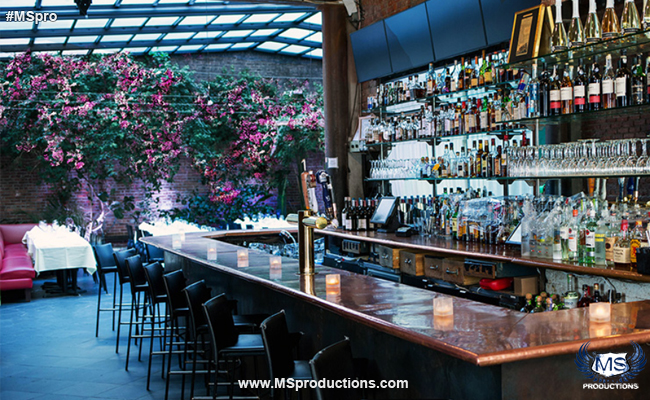 The Patio NYC bar