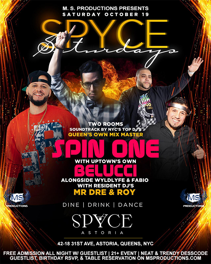 Spyce Astoria Queens bar lounge and night club