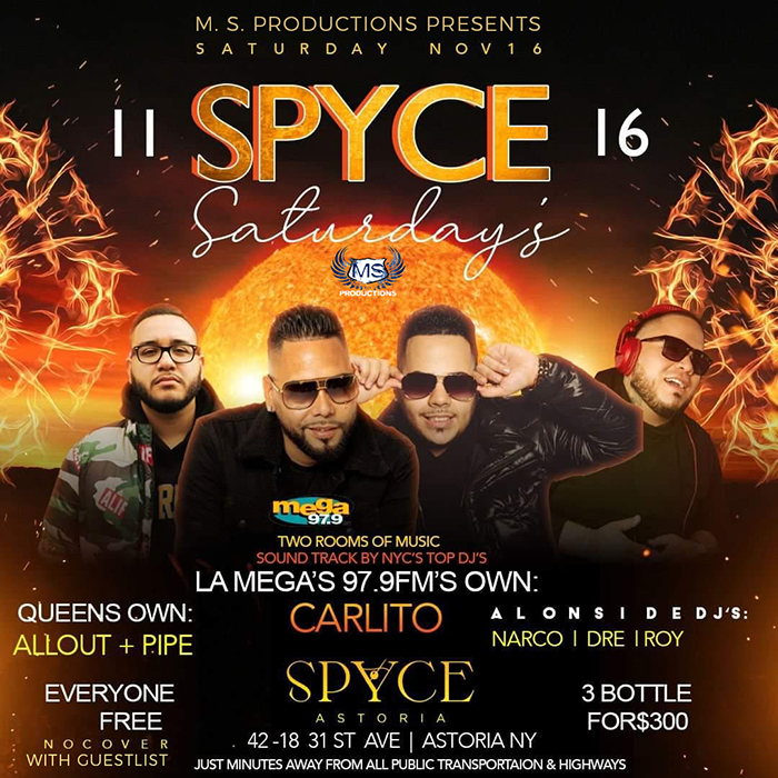 Spyce Astoria Queens Nightclub