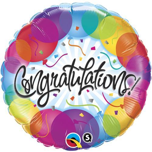 congratulations foil balloons