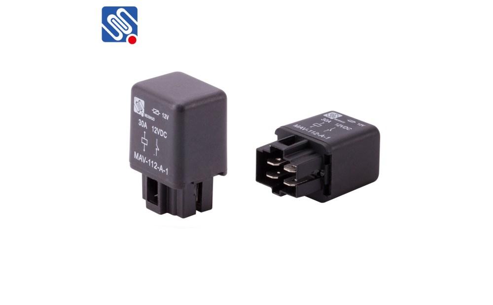 medium resolution of 4 pin 30 amp 12 volt relay mav 112 a 1