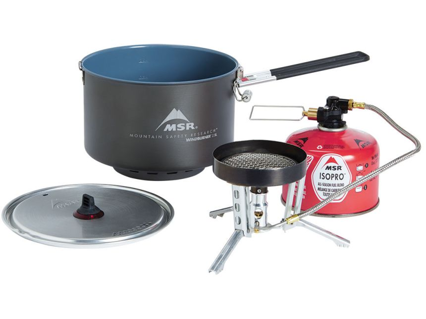 MSR Windburner Group stove review 1
