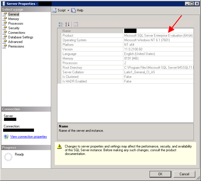 Ms SQL Girl | Retrieving SQL Server 2012 Evaluation Period