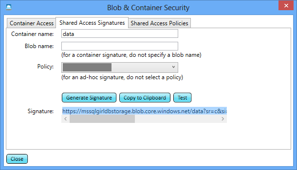 02. Blob & Container Security