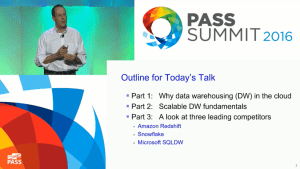PASS Summit 2016 Keynote Day 2