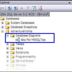 Database Diagram Visual Studio 2013 Ritetemp Thermostat 8030c Wiring Getting Started With Sql Server Diagrams Before Discussing Features Of It Would Be Better To Clarify A Couple Messages That You May Face While Working