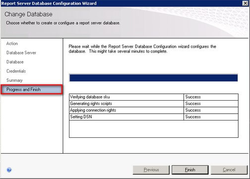 verify report server configuration sql server