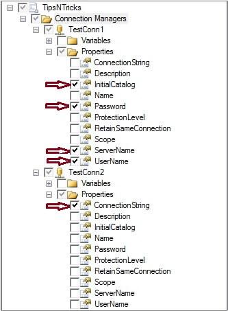 SQL Server Integration Services Connection Manager Tips