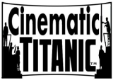 Cinematic Titanic logo with Iconic sillhouettes