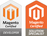 Magento Certified Developer and Solution Speialists