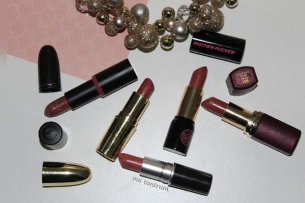 Top 5 nude lipsticks for medium skintones