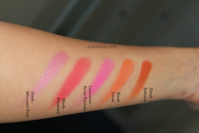 Blushes for every skin tone