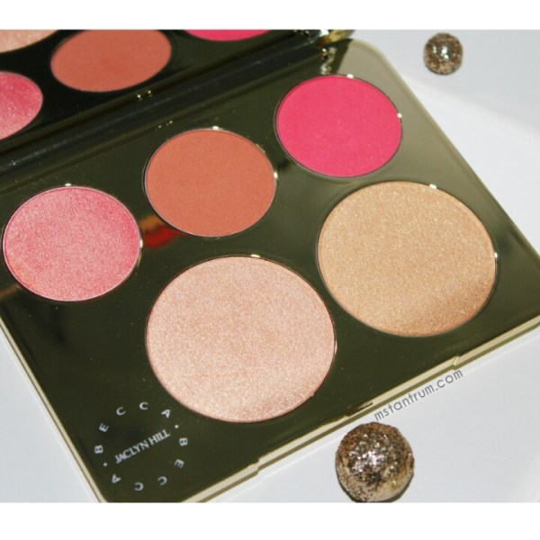 Becca Cosmetics x Jaclyn Hill Champagne Collection Face palette on mstantrum.com