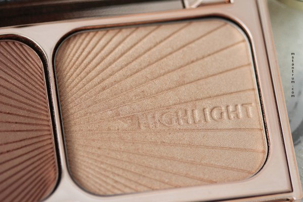 Charlotte tilbury filmstar bronze & glow kit highlight on mstantrum.com